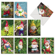AM6841OC - Gnome Notes: Mini Assorted Set of 10 Cards