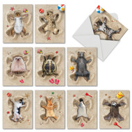 AM6844OC - Sand Angels: Mini Assorted Set of 10 Cards