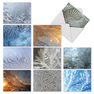 M2283 - Ice Feathers: Mixed Set of 10 Cards