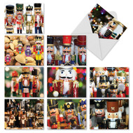 Merry Nutcrackers Holiday Greeting Cards