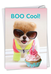 C6865BD - Boo Cool: Paper Card