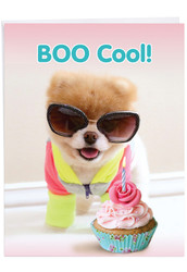 J6865BD - Boo Cool: Giant Note Card