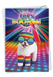 C6868BD - Let's Boo-gie: Paper Card