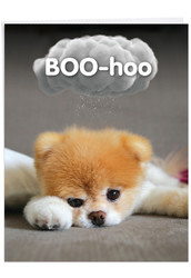 J6869MY - Boo-Hoo: Giant Printed Card