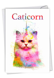 C6882BD - Caticorn: Paper Card