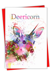 C7134XS - Deericorn: Printed Card