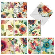 AM2314TY - Watercolor Botanicals: Assorted Set