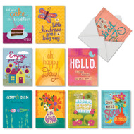 AM7166XX - Happy Notes: Mini Mixed Set of Cards