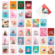 AM7074OC - Cakes for All Seasons: Mini Mixed Set of Cards