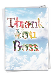 C2359ABY - Thanks A Bunch: Greeting Card