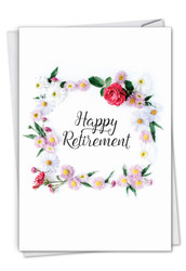 C4175CRT - Elegant Retirement: Printed Card
