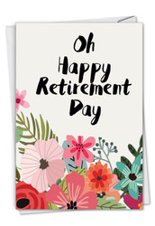 Optimisms, Printed Retirement Greeting Card - C6631GRTG