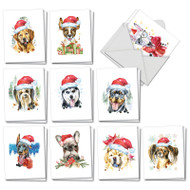 AM2915XS - Merry Mutts: Mini Assorted Set of Cards