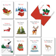 AC7122XS - Punny Holidays: Assorted Set of Cards