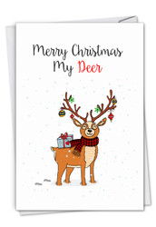 C7122EXS - Punny Holidays - Deer: Greeting Card