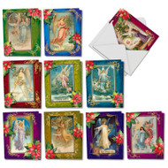 AM1747SG - Christmas Angels: Mini Mixed Set of Cards