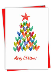 C2916AXS - Holiday Hearts: Greeting Card