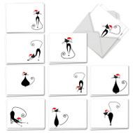 AM3265XT - Meowy Christmas: Mini Assorted Set of Cards
