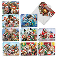 AM6652XT - Merry Christmas to Zoo: Mini Assorted Set of Cards