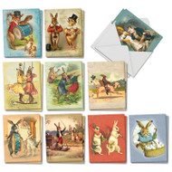 AM2345EA - Funny Bunnies: Mini Assorted Set of Cards