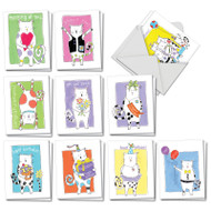 AM3118XX - Cat Scratch: Mini Mixed Set of Cards