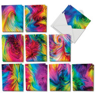 AM3177OC - Color Waves: Mini Mixed Set of Cards