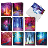 AM3178OC - Extreme Colors: Mini Assorted Set of Cards