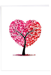 Love Trees, Extra Large Valentine's Day Greeting Card - J3185AVDG