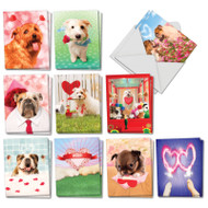 AM3188VD - Loving Puppies: Mini Mixed Set of Cards