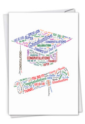 C3191CGD - Diploma Wordart: Paper Card