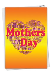 Mother's Words, Printed Mother's Day Greeting Card - C3192FMDG