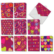 A Lot Of Heart, Assorted Set Of Mini Mother's Day Greeting Cards - AM5652MDG