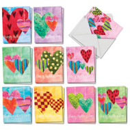 Watercolor Heartworks, Assorted Set Of Mini Mother's Day Note Cards - AM5656MDG