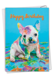 C7217ABD - Dirty Dogs - Puppy: Paper Card