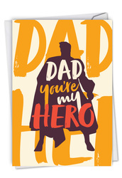 C6945FD - My Hero: Printed Card