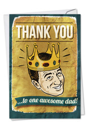 C0234FD - Awesome Dad: Printed Card