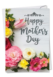 C3524MD - Mother's Day Blooms: Note Card