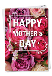 C3528MD - Flowers for Mom: Greeting Card