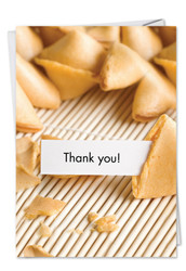 C9947TY - Hungry Soon Fortune Cookie Thank You: Greeting Card