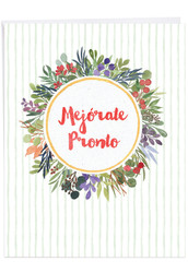 Mejo?rate Pronto, Jumbo Get Well Note Card - J6647GWG