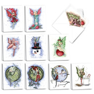 AM3371XS - Holiday Fairies: Mini Assorted Set of Cards