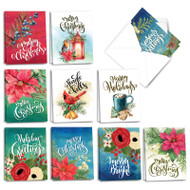 AM3523XS - Joyful Holidays: Mini Assorted Set of Cards