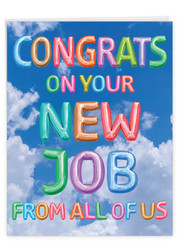 J5651RNJ - Inflated Messages - New Job: Jumbo Printed Card