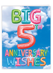 J5651BMA - Inflated Messages - 5: Extra Large Paper Card