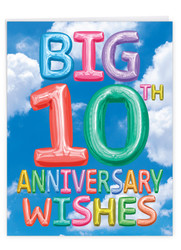 J5651CMA - Inflated Messages - 10: Over-sized Greeting Card