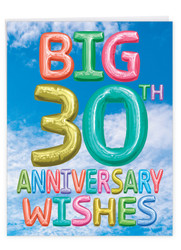 J5651EMA - Inflated Messages - 30: Extra Large Greeting Card
