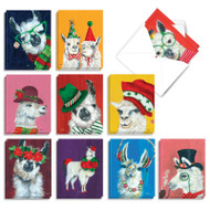 AM7036XS - Personality Llamas: Mini Assorted Set of Cards