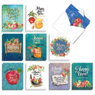 AM9099RH - Sweet New Year: Mini Mixed Set of Cards