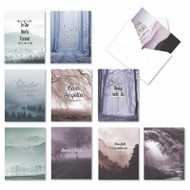 Misty Moments, Assorted Set Of Mini Sympathy Note Cards - AM9154SMG