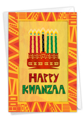 Unity And Peace, Printed Kwanzaa Note Card - C9181KW
